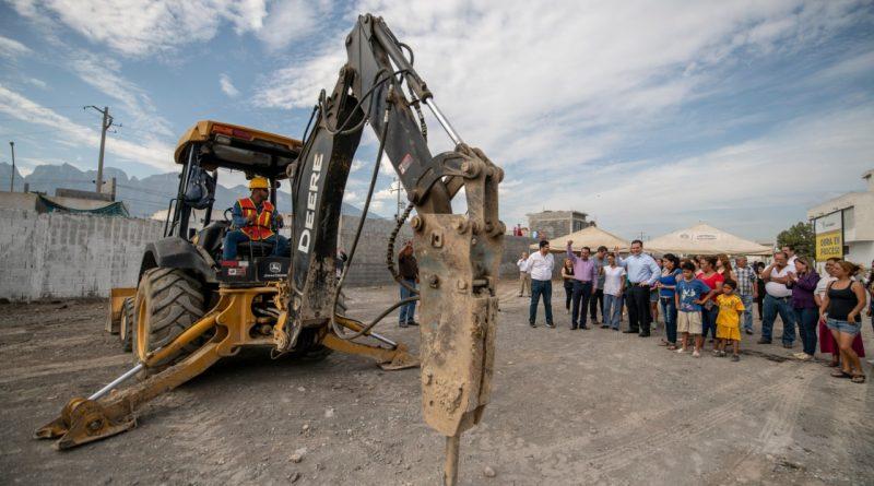 Arranca Monterrey obras integrales en La Alianza