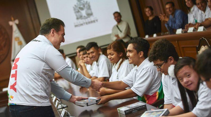 Reconoce Monterrey a atletas regios ganadores de la Paralimpiada 2019