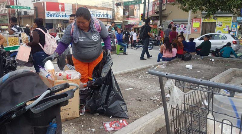 Limpia Monterrey 161 toneladas de basura del Buen Fin y el desfile