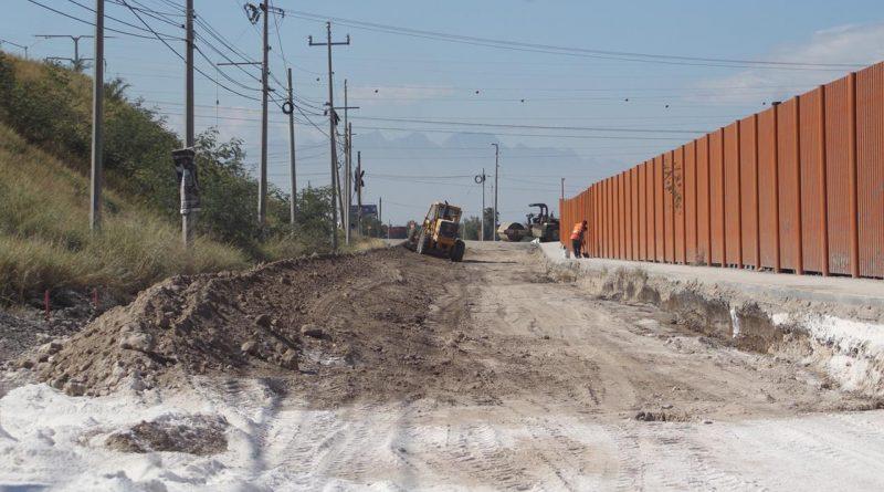 Combate César Garza rezago vial en Apodaca