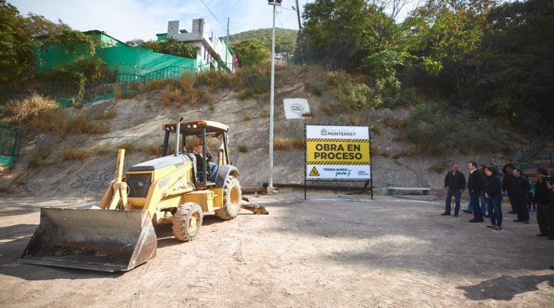 Harán deporte en una cancha digna vecinos de San Ángel Sur