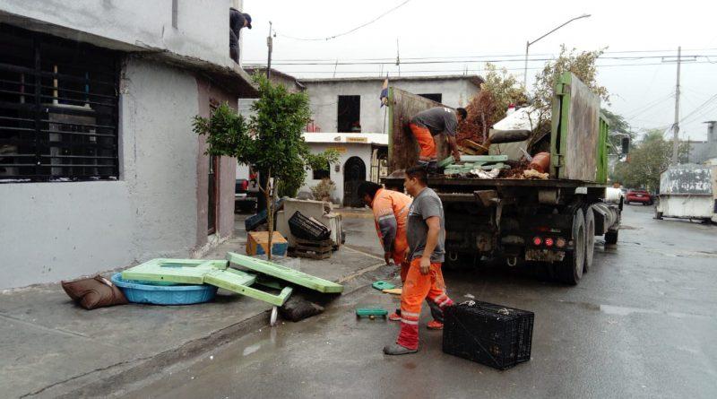 Hacen brigada de limpieza en La Alianza