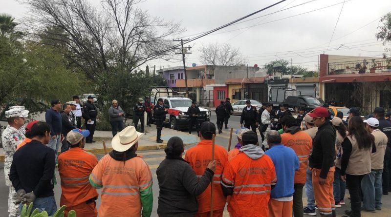 Colabora gobierno de Monterrey en acciones de la Mesa por la Paz