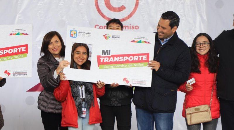 Amplia Cristina Díaz becas de transporte para estudiantes