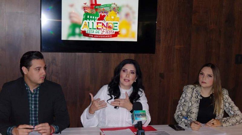 Alistan Feria de Allende