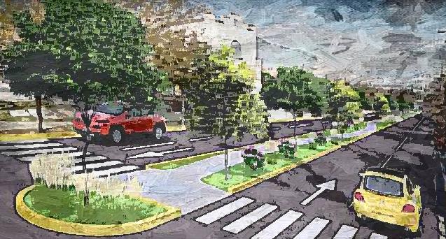 La des-ruta ecológica en San Pedro…