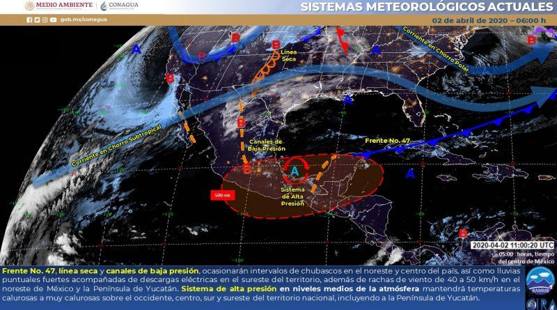 Pronostican rachas de viento para el Noreste del país