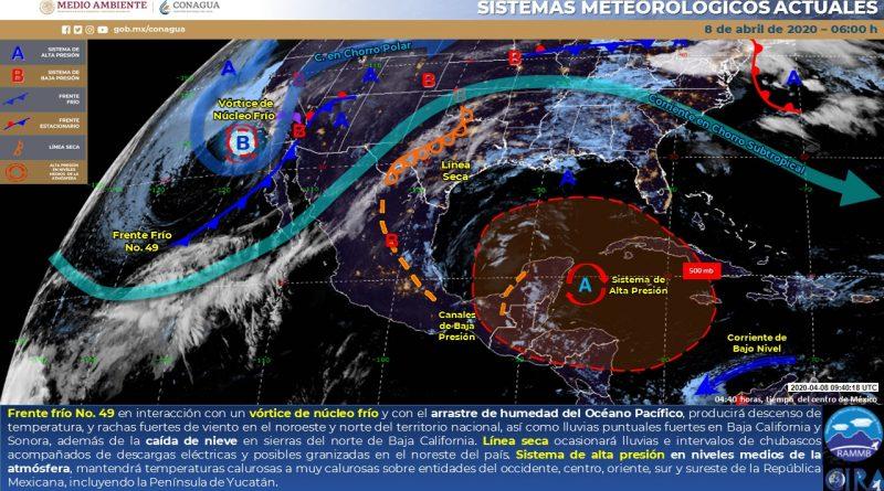 Posibles granizadas en Coahuila, Nuevo León y SLP