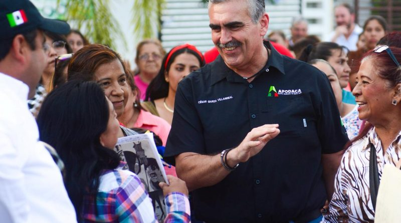 Destaca César Garza en aprobación de alcaldes del país