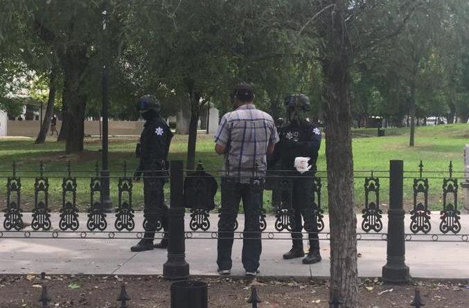 Apoya Seguridad Pública y Tránsito de Monterrey contingencia por COVID 19